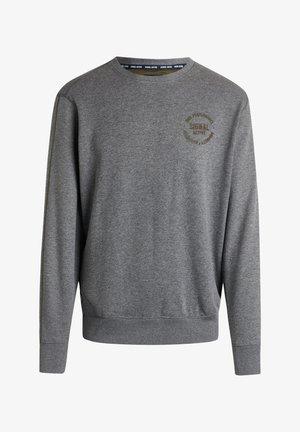 BOLT CREW - Sweater - grey melange