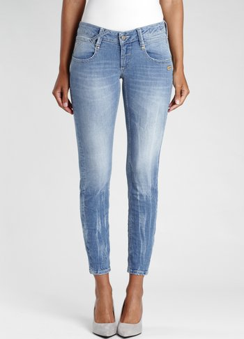 CROPPED - Jeans Skinny Fit - unicum wash