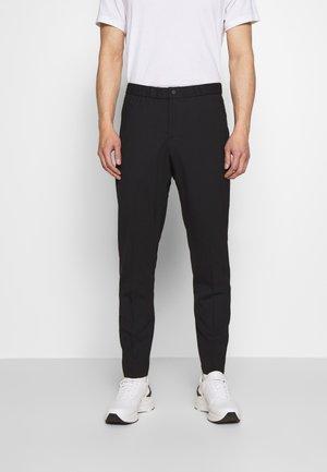 MENS ELASTICATED WAIST TROUSER - Trousers - black