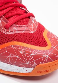 AND1 - HAVOK - Basketball shoes - red/white - 5