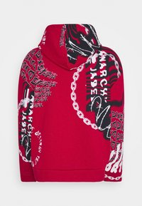 Jaded London - VORTEX GRAFFITI HOODIE - Hoodie - red - 1