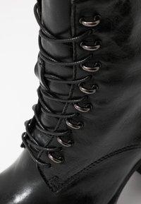 MJUS - Kotníková obuv na vysokém podpatku - nero - 2