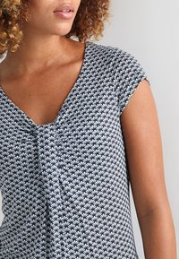 Anna Field - Print T-shirt - dark blue - 4