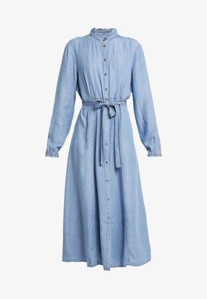 VINCACR DRESS - Farkkumekko - blue denim