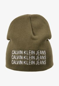 Calvin Klein Jeans - BOYS BASIC BEANIE - Mütze - green - 1