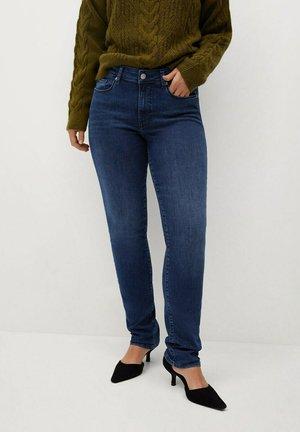 VALENTIN - Straight leg jeans - dunkelblau