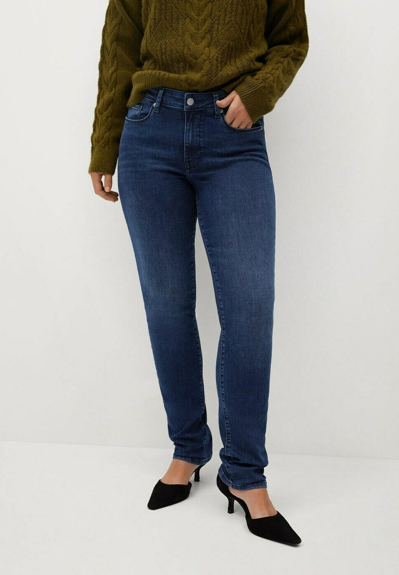 Violeta by Mango - VALENTIN - Straight leg jeans - dunkelblau