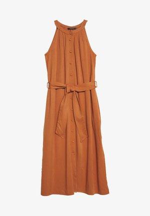Sukienka koszulowa - cinamon