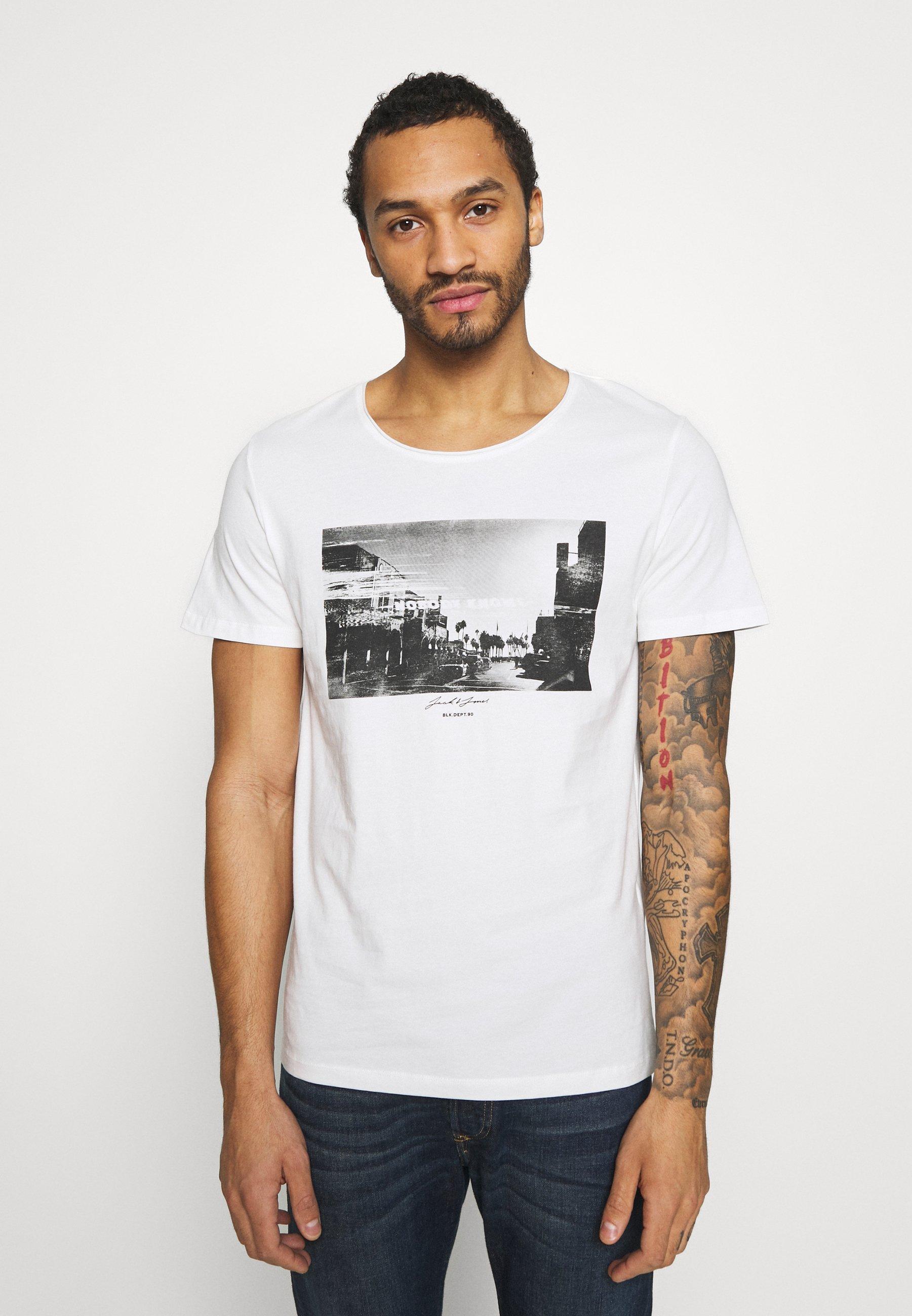 Men JORNOBODY TEE CREW NECK - Print T-shirt