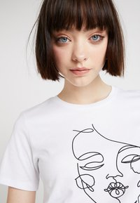 TWINTIP - Print T-shirt - white - 3