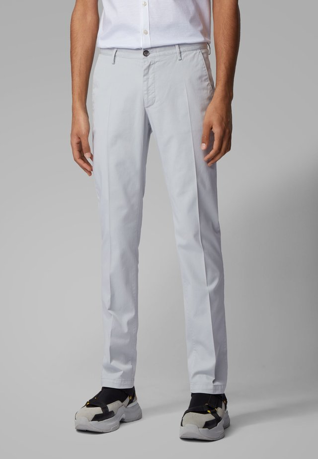 RICE3-D SLIM FIT - Chino - light grey