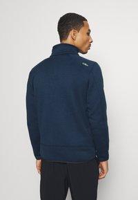 CMP - Fleece jacket - blue ink/yellow fluo - 2