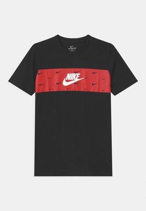 PANEL FUTURA - T-shirt z nadrukiem - black