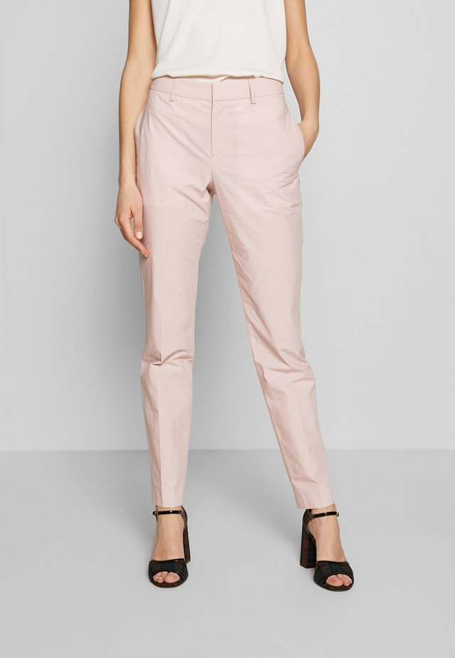 PANTS PARIELLA - Chinosy - nude