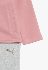 Puma - HOODED MIX SUIT - Tracksuit - bridal rose - 4