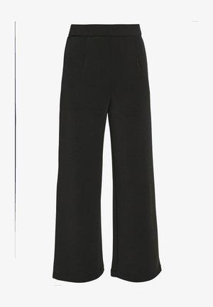 SLFTUIJA TEA WIDE PANTS - Pantalon classique - black