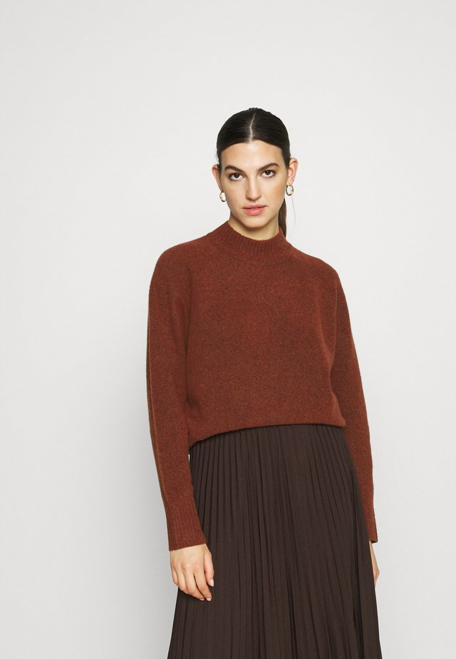 FRANCES CREW NECK  - Trui - cinnamon