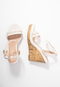 New Look Wide Fit - WIDE FIT PILAR  - Sandály na vysokém podpatku - offwhite - 3
