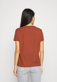 CALANDO - Basic T-shirt - dark red