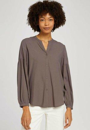 BALLON - Button-down blouse - rusty brown