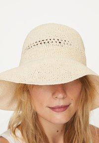 OYSHO - Hat - white - 1