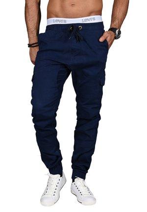 DESIGNER - Cargo trousers - dunkelblau