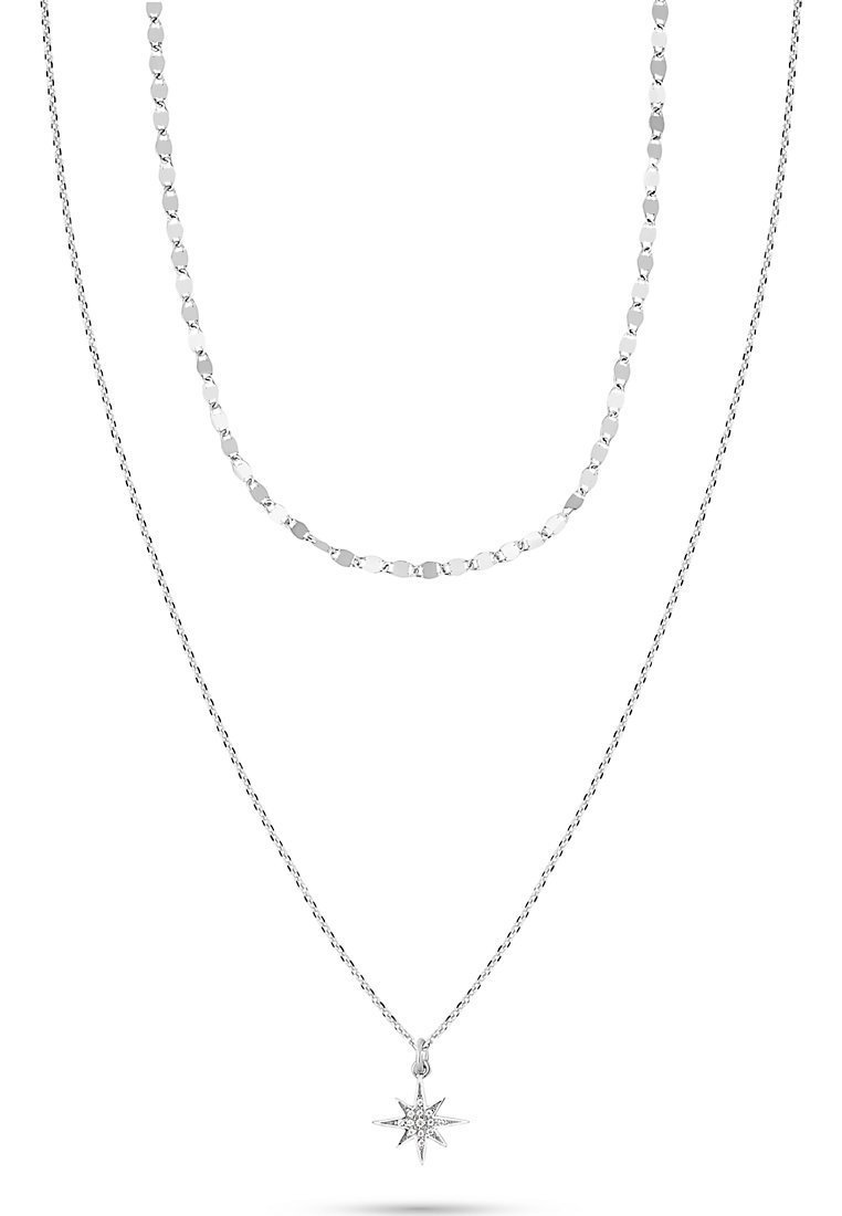 QOOQI - Necklace - silber