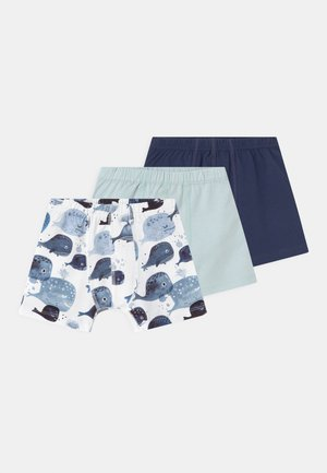 WHALES 3 PACK - Pants - blue