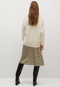 Mango - BIAS - A-line skirt - vert - 2