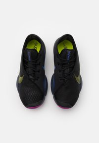 Nike Performance - AIR ZOOM SUPERREP 2 - Sports shoes - black/cyber/red plum/sapphire - 3