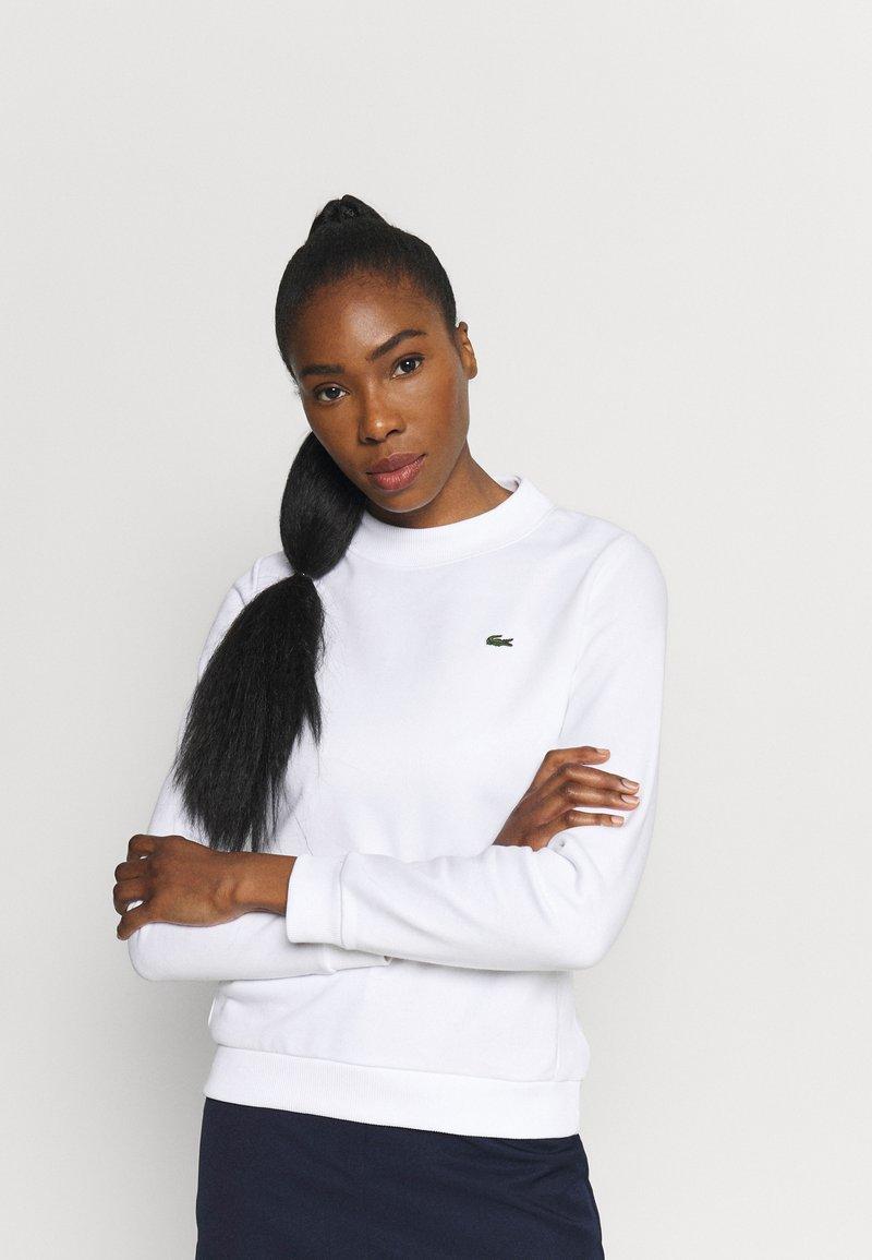 Lacoste Sport - Sweatshirt - white