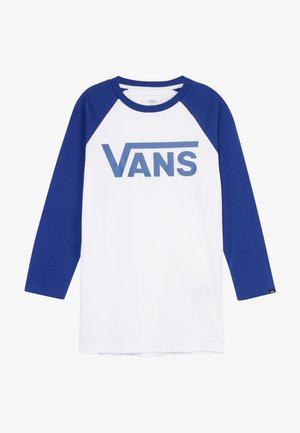 CLASSIC RAGLAN BOYS - Bluzka z długim rękawem - white sodalite blue