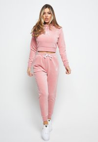 SIKSILK - Tracksuit bottoms - pink - 1