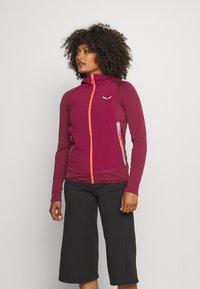 Salewa - ROLLE - Fleece jacket - rhodo red - 0