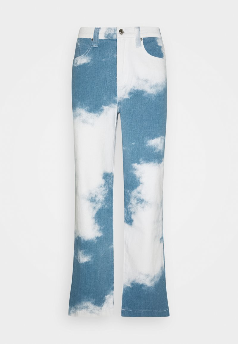 Jaded London - CLOUD SKATE - Džíny Relaxed Fit - blue
