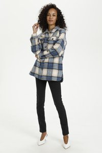 Kaffe - KATALIA  - Summer jacket - multi blue check - 1