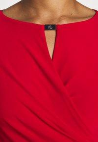 Lauren Ralph Lauren - MID WEIGHT DRESS TRIM - Etuikjole - orient red - 6