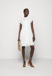 Bruuns Bazaar - KATHIS DRESS - Shirt dress - snow white - 1