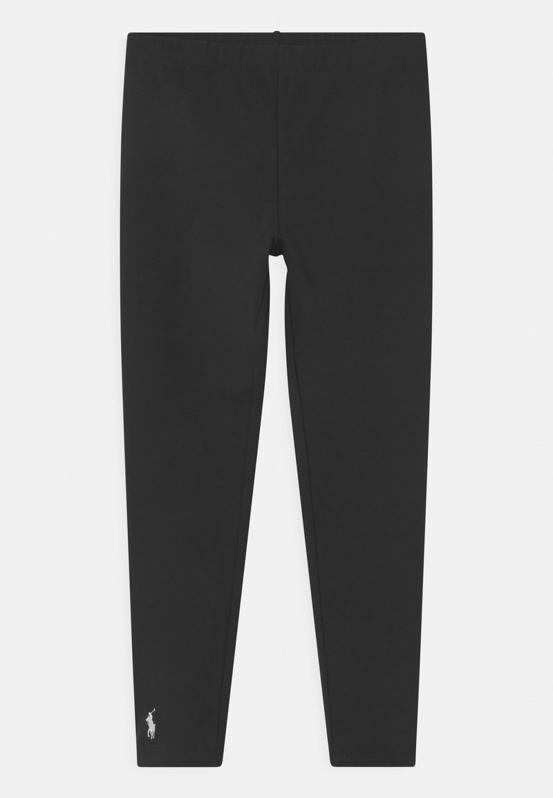 Polo Ralph Lauren - BIG SOLID BOTTOMS - Leggings - Trousers - polo black