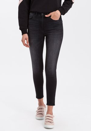 JUDY - Jeans Skinny Fit - dark-grey-used