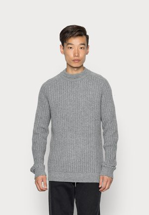 SLHATLAS CREW NECK - Jumper - light grey melange