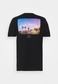 CLOSURE London - SUMMER PALM TEE - Print T-shirt - black - 1