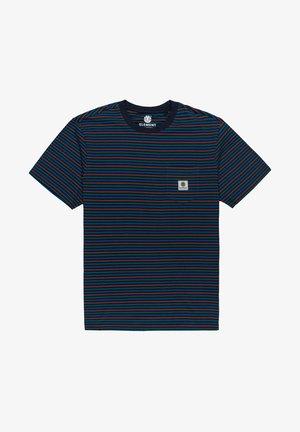 W1SSH1ELP1 - Print T-shirt - eclipse navy