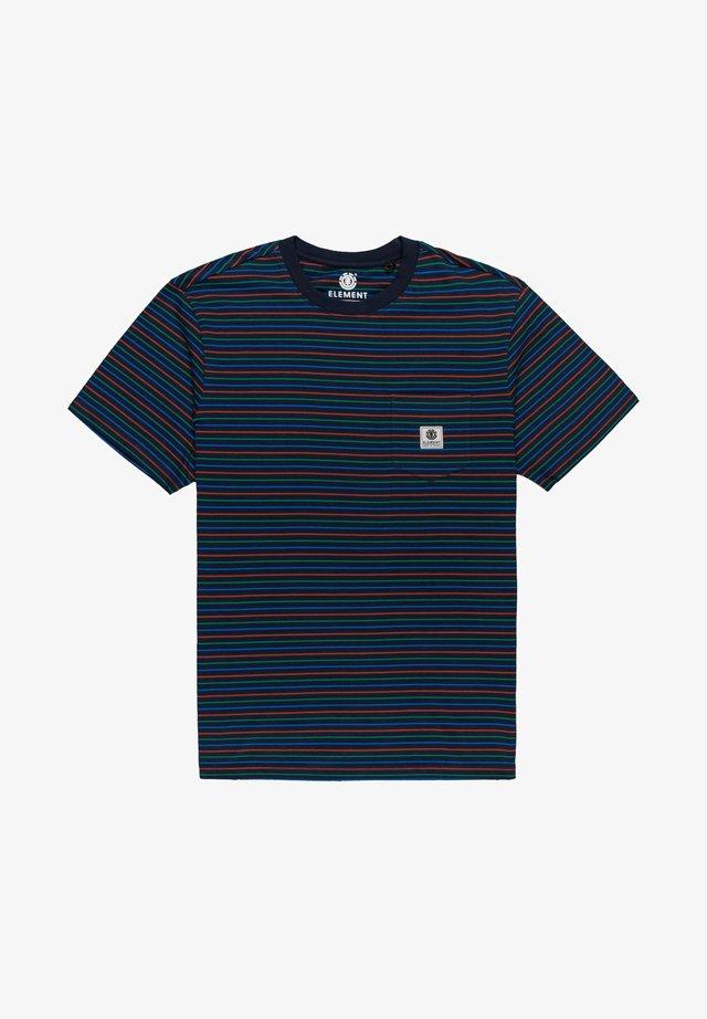 W1SSH1ELP1 - T-shirt con stampa - eclipse navy
