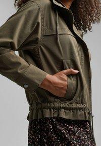 edc by Esprit - Summer jacket - khaki green - 7