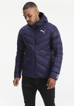 PWRWARM PACKLITE JACKET - Untuvatakki - peacoat