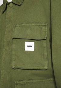 Obey Clothing - PEACE JACKET - Giacca leggera - army - 4