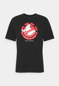 Element - GHOSTBUSTERS X ELEMENT GHOSTLY - Print T-shirt - flint black - 0