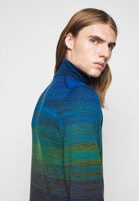 Missoni - LONG SLEEVE CREW NECK - Pullover - dark blue - 3