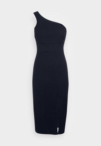 PIYA ONE SHOULDER MIDI DRESS - Vestito elegante - navy blue